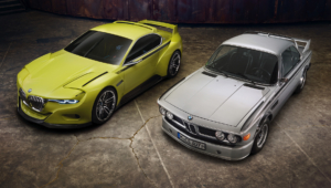 BMW 3.0 CSL Hommage Concept HD Wallpaper