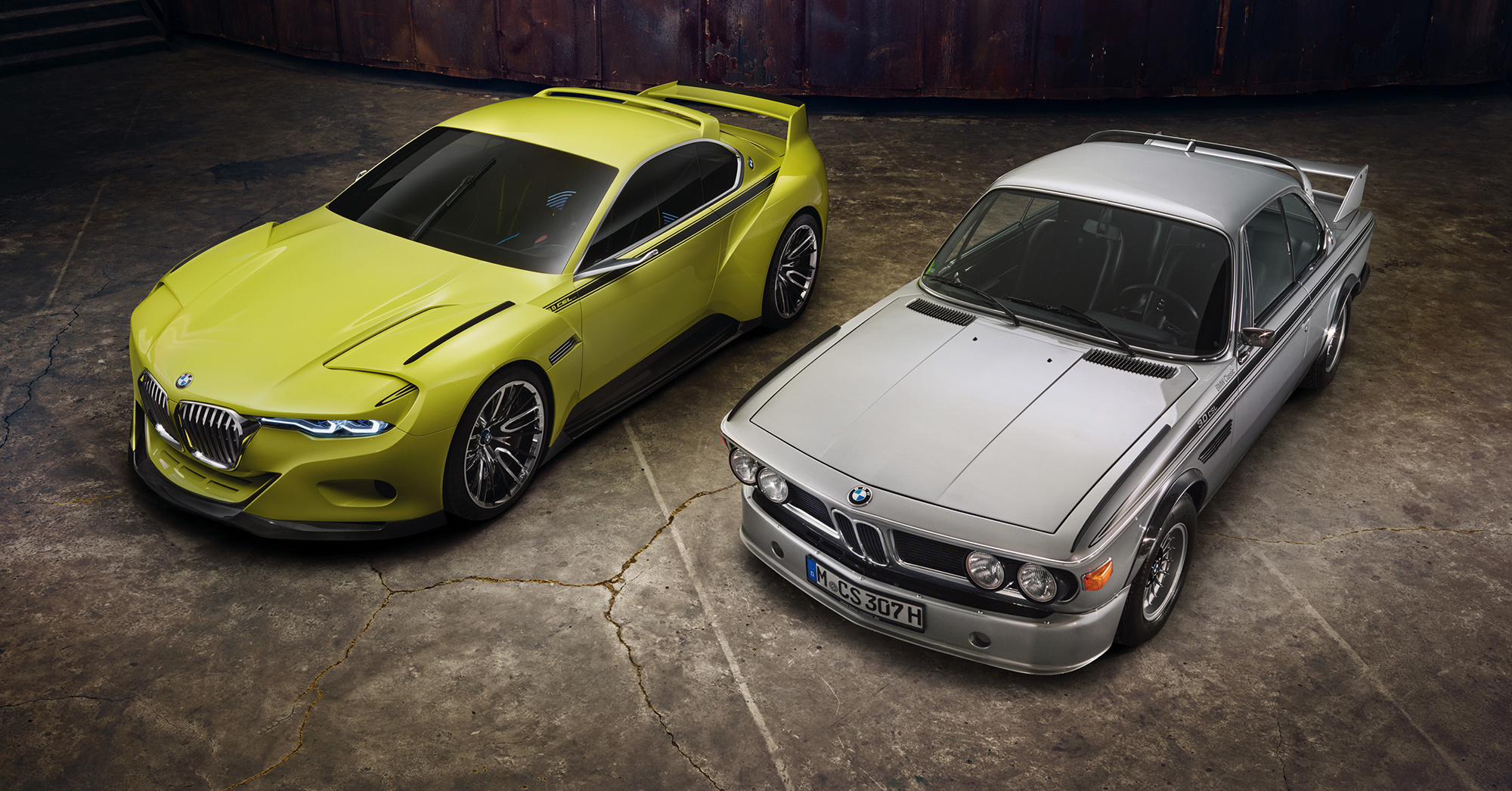 BMW 3.0 CSL Hommage Concept HD Wallpaper