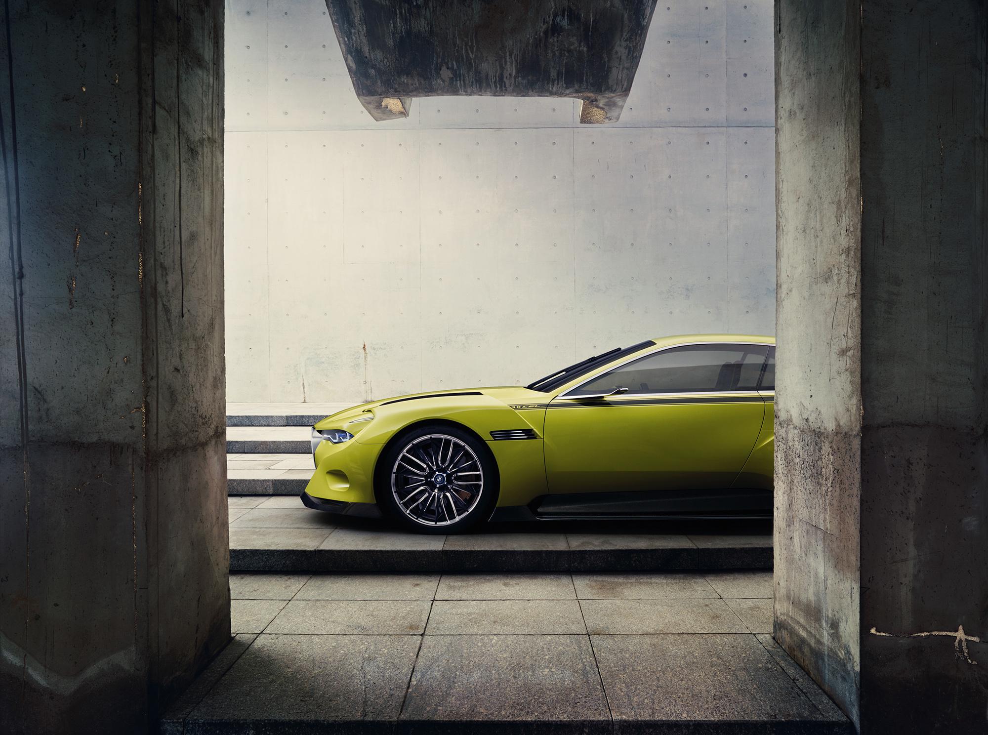 BMW 3.0 CSL Hommage Concept Photos