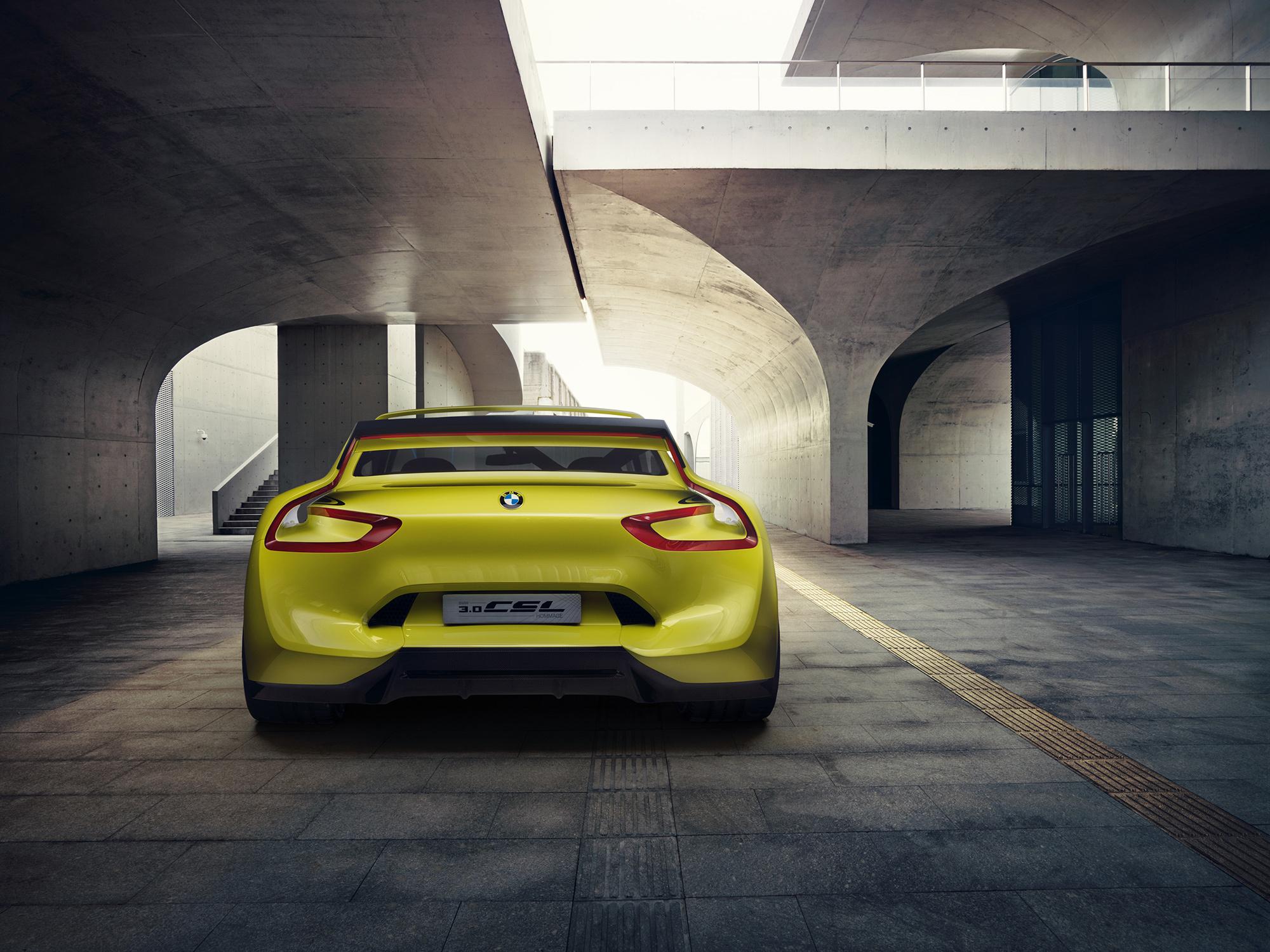 BMW 3.0 CSL Hommage Concept Pictures