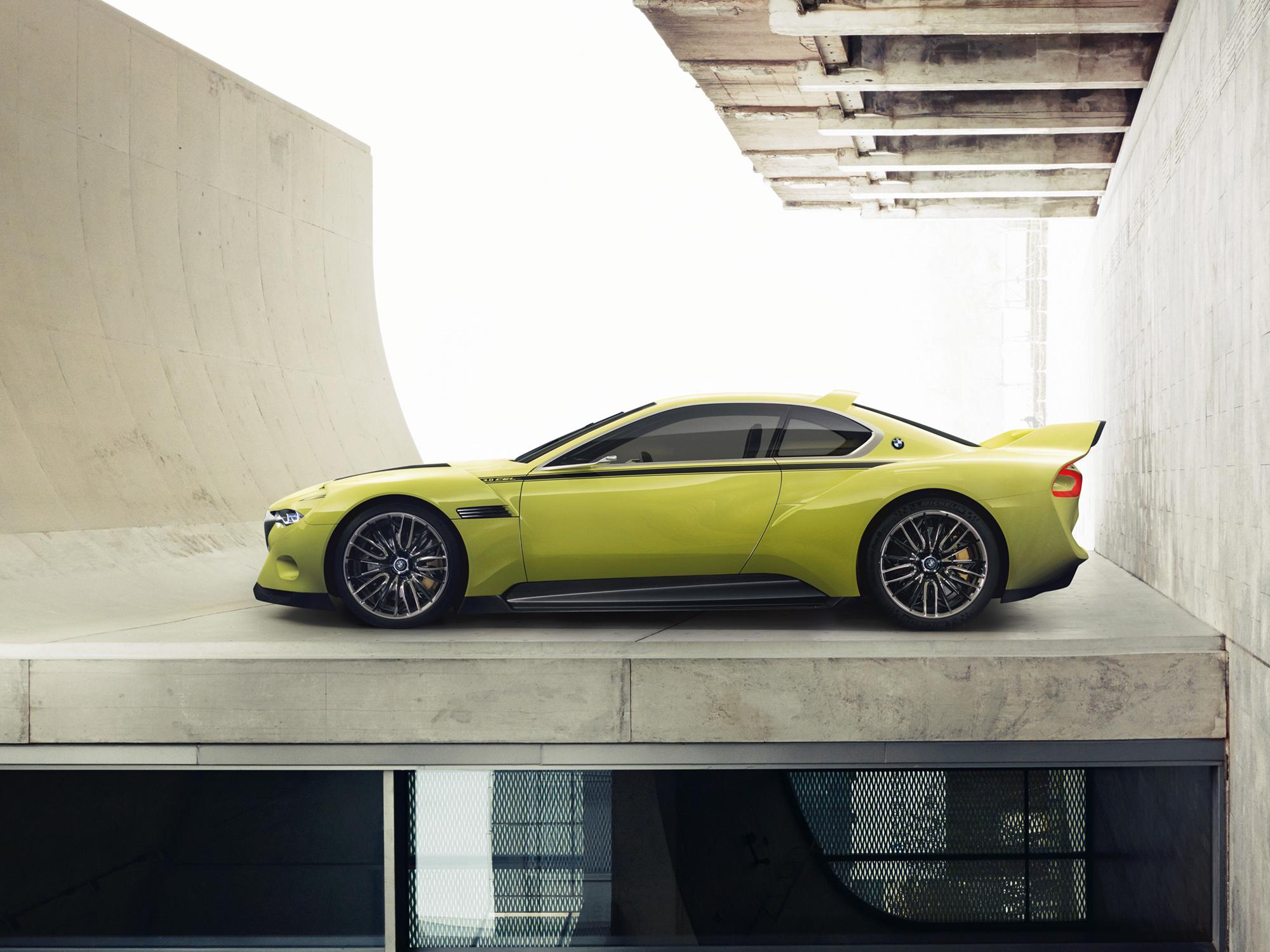 BMW 3.0 CSL Hommage Concept Wallpaper