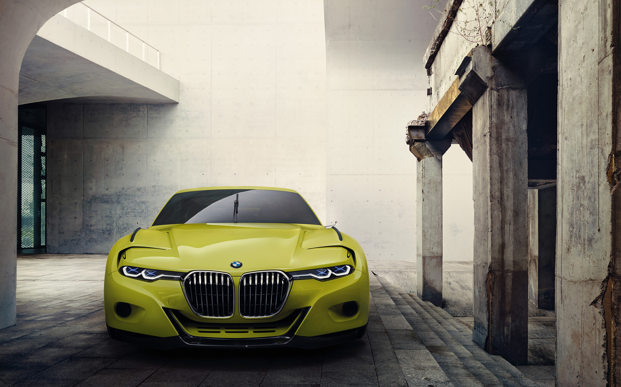 BMW 3.0 CSL Hommage Concept Wallpapers