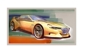 BMW 3.0 CSL Hommage Concept For Desktop