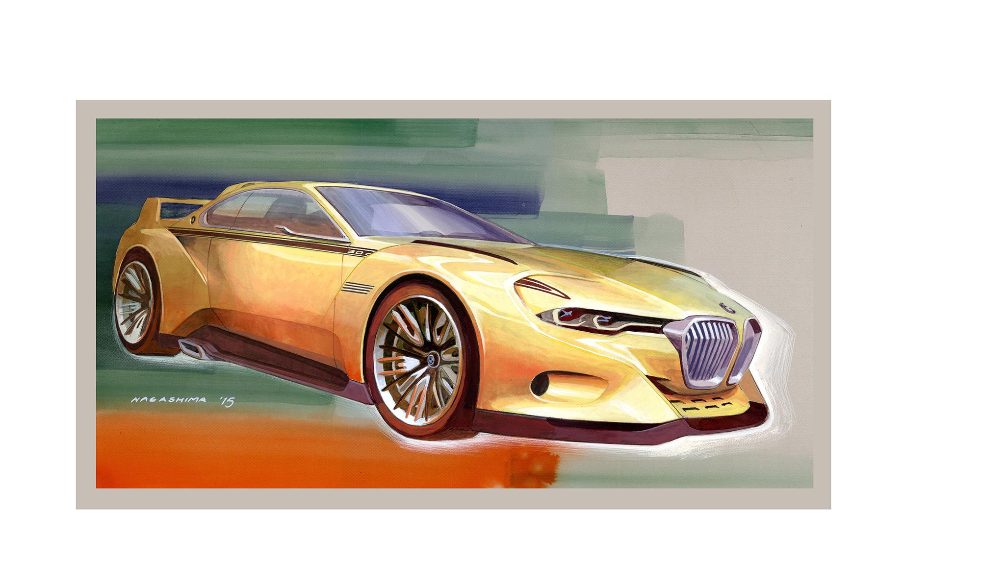 BMW 3.0 CSL Hommage Concept For Desktop