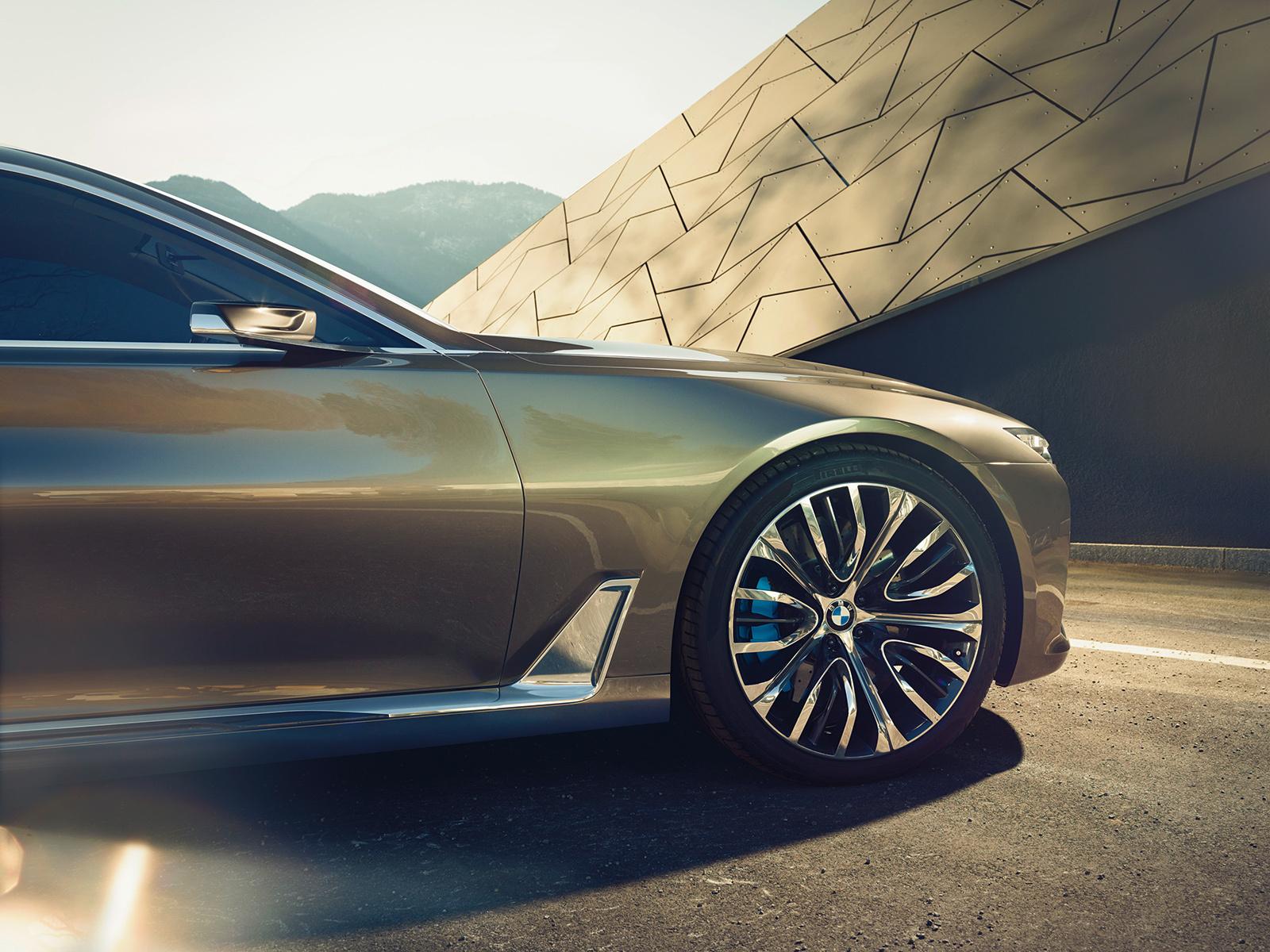 BMW Vision Future Luxury Background
