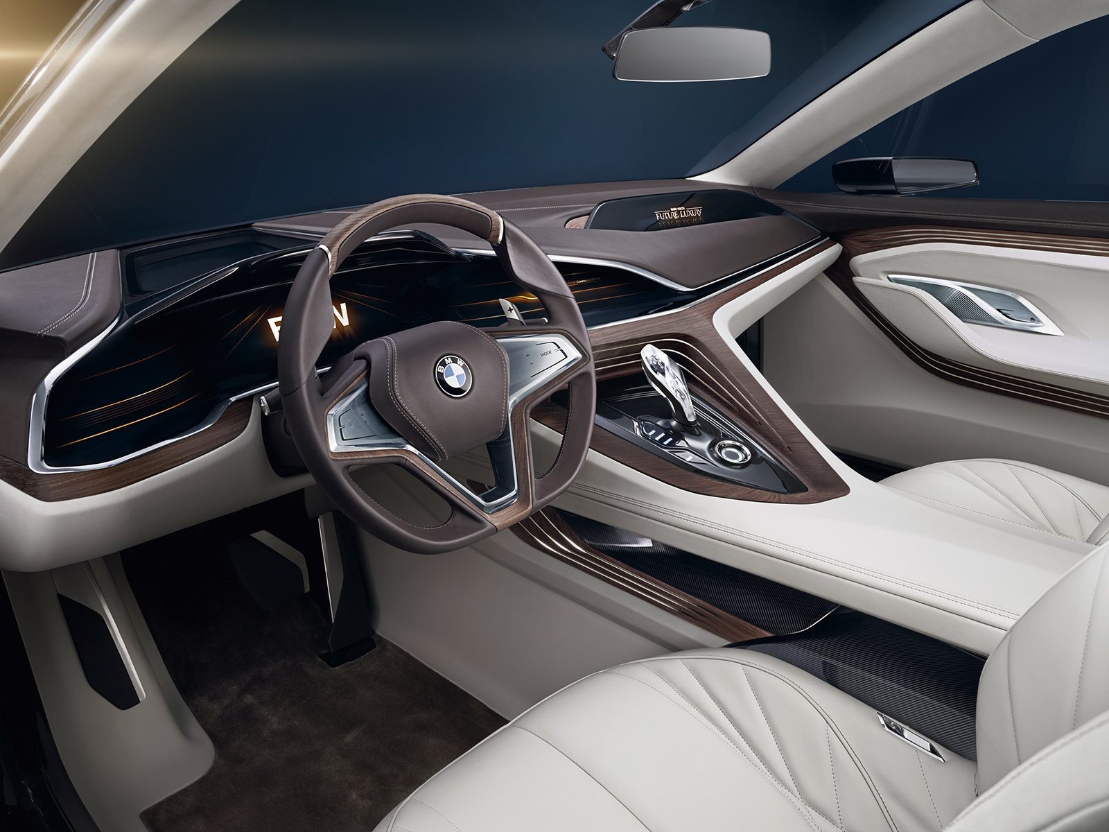 BMW Vision Future Luxury HD Background