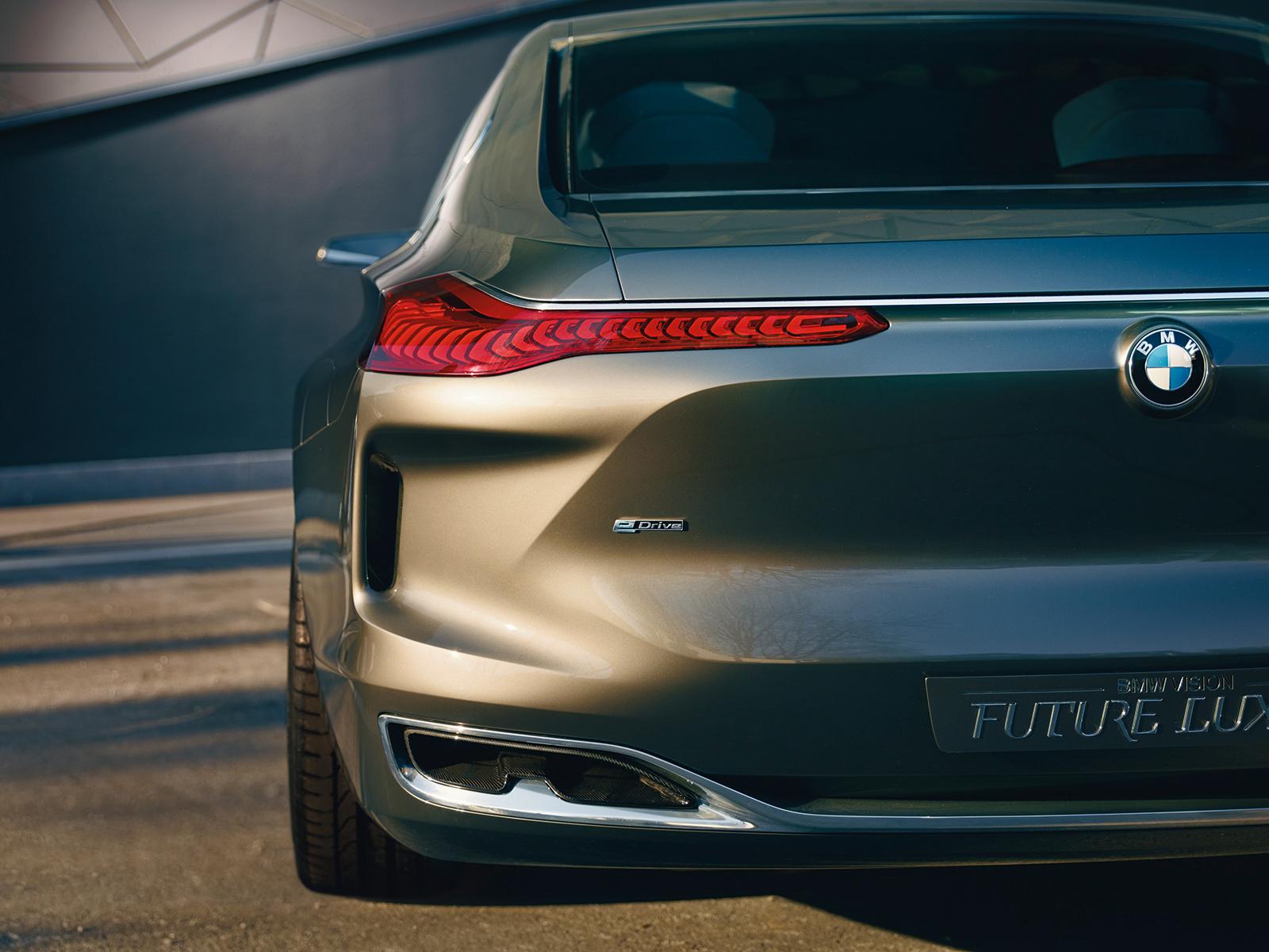 BMW Vision Future Luxury HD Wallpaper