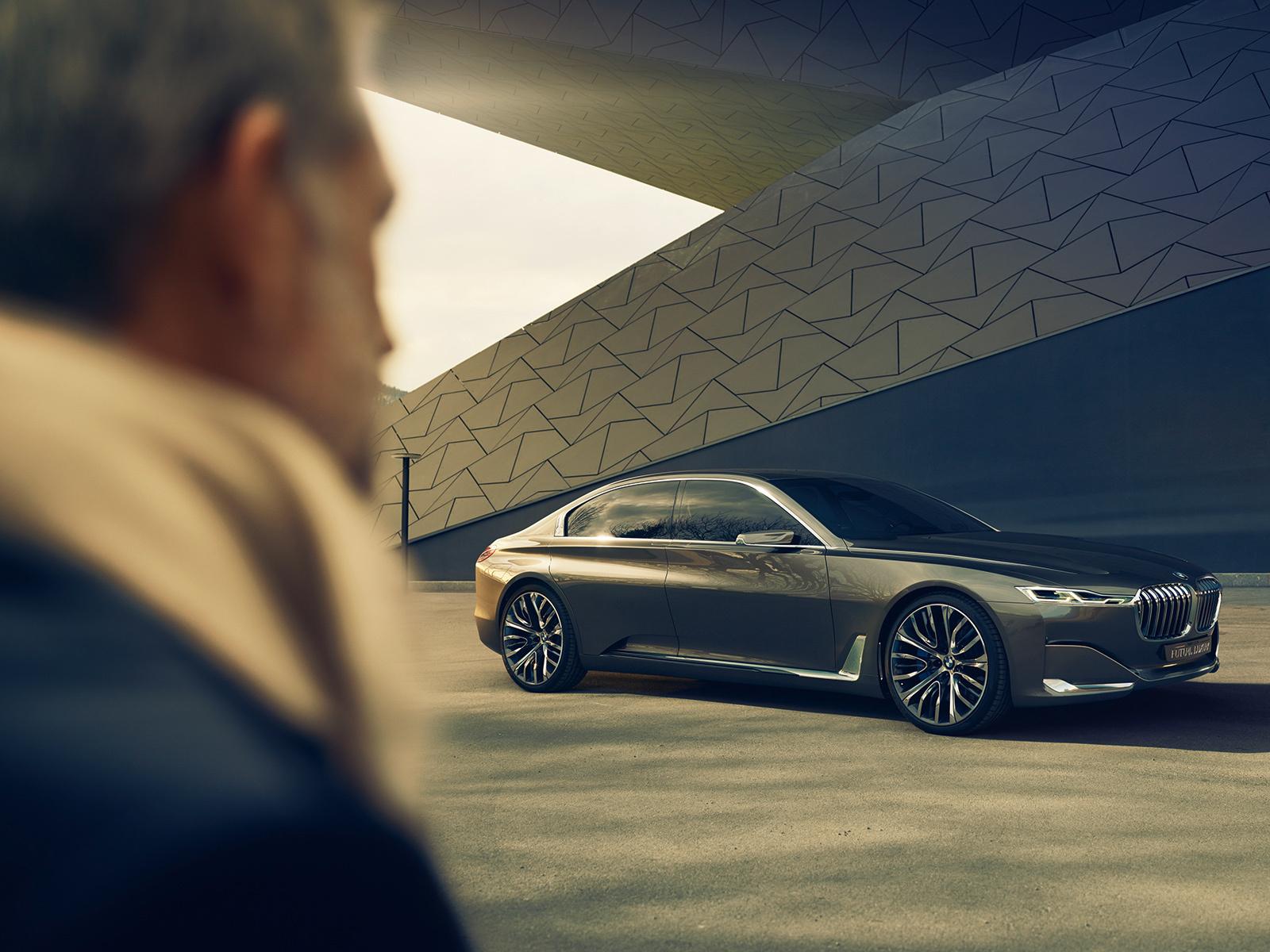 BMW Vision Future Luxury Wallpaper