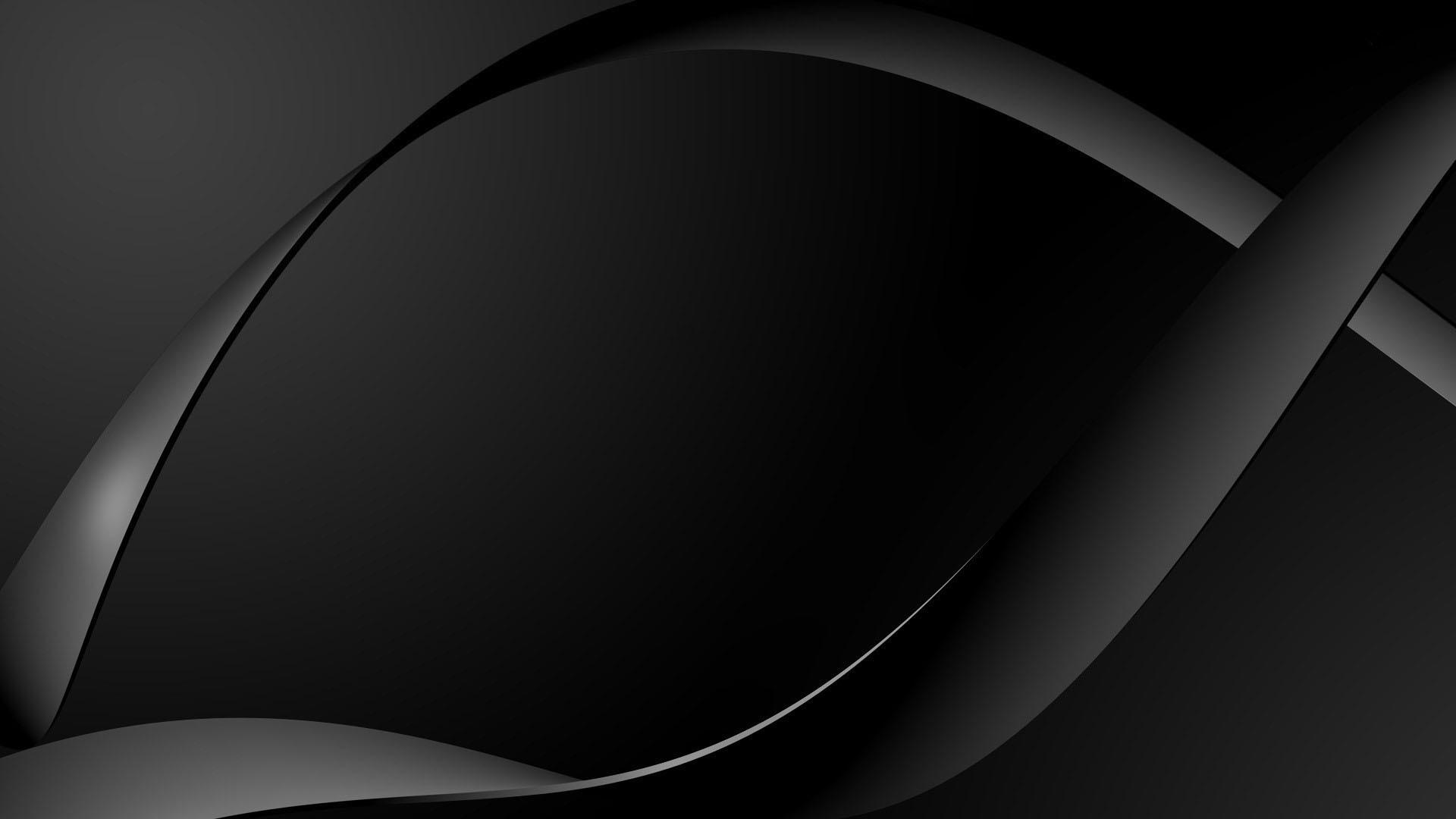 Black Abstract Widescreen