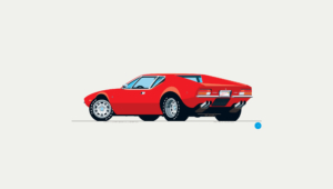 De Tomaso Pantera Wallpaper