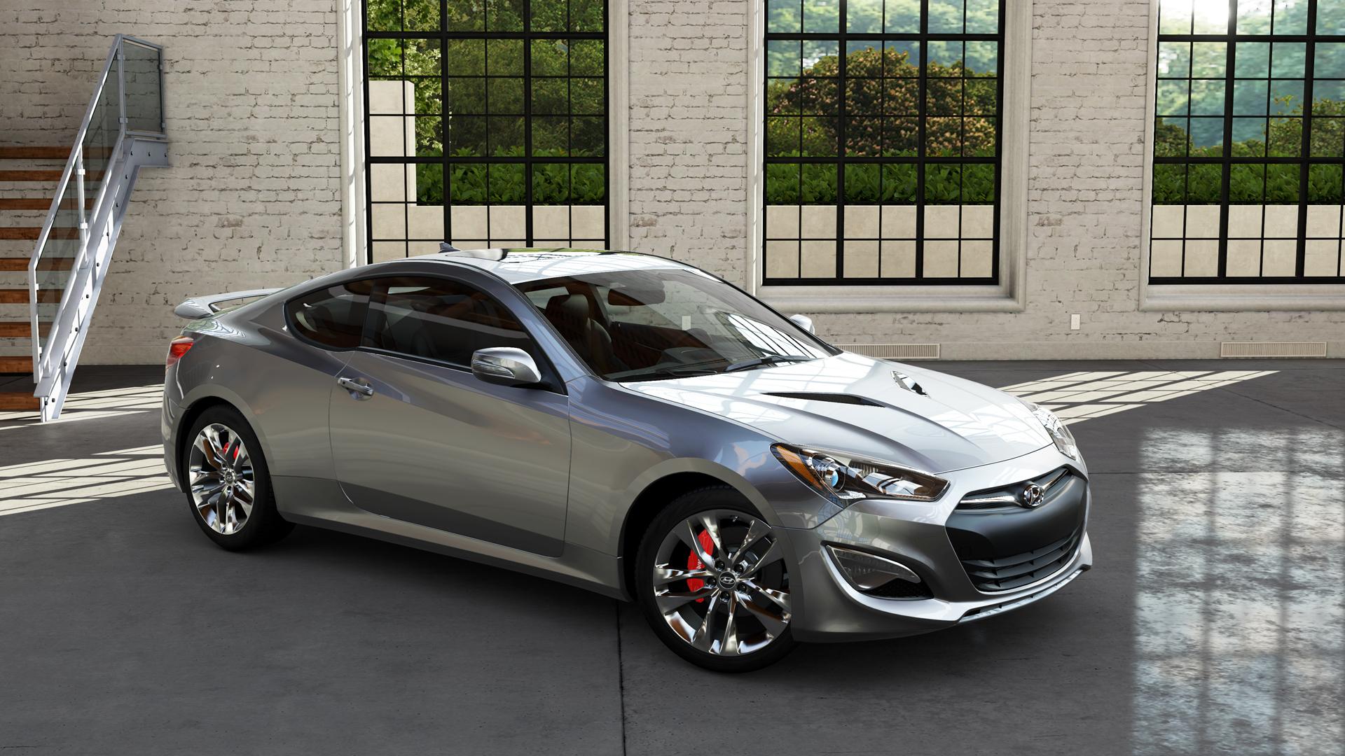 Hyundai Genesis Coupe Widescreen