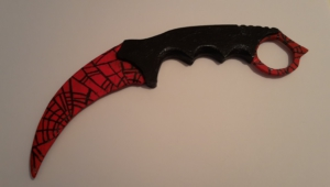 Karambit Crimson Web Photos