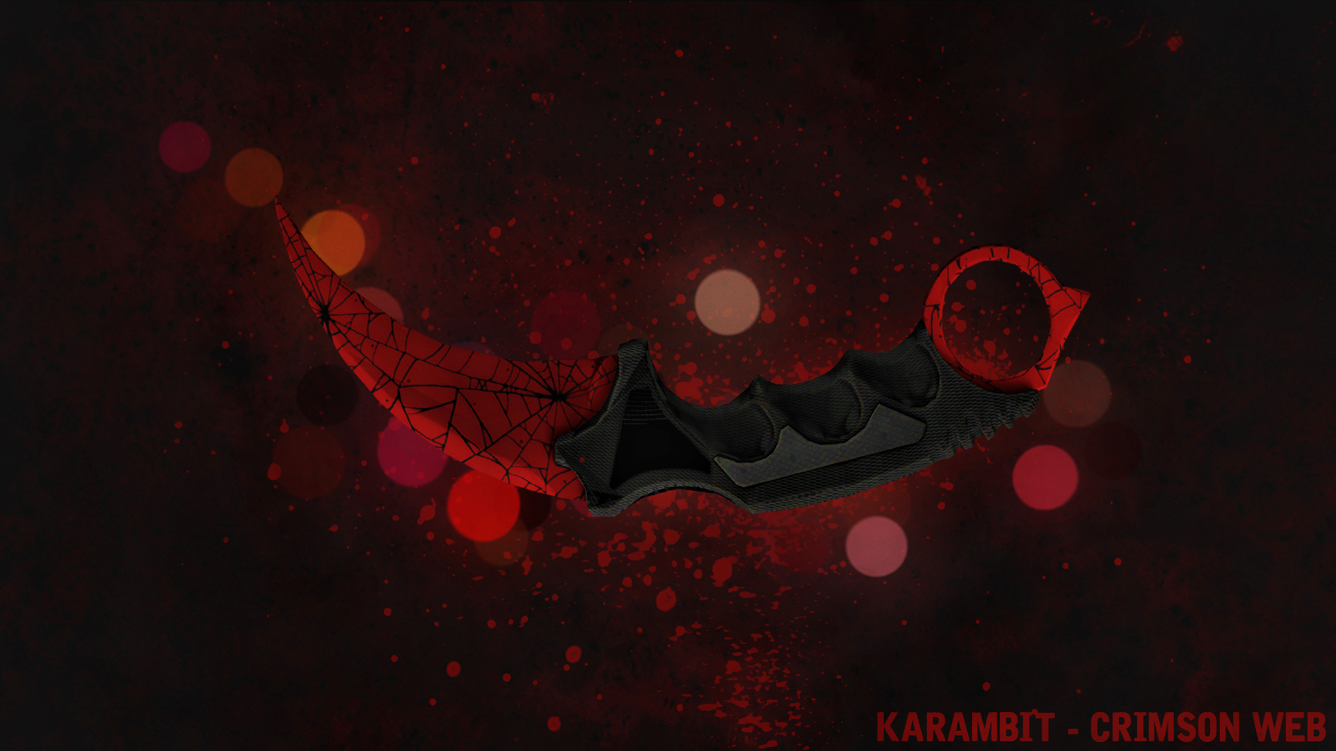 Karambit Crimson Web