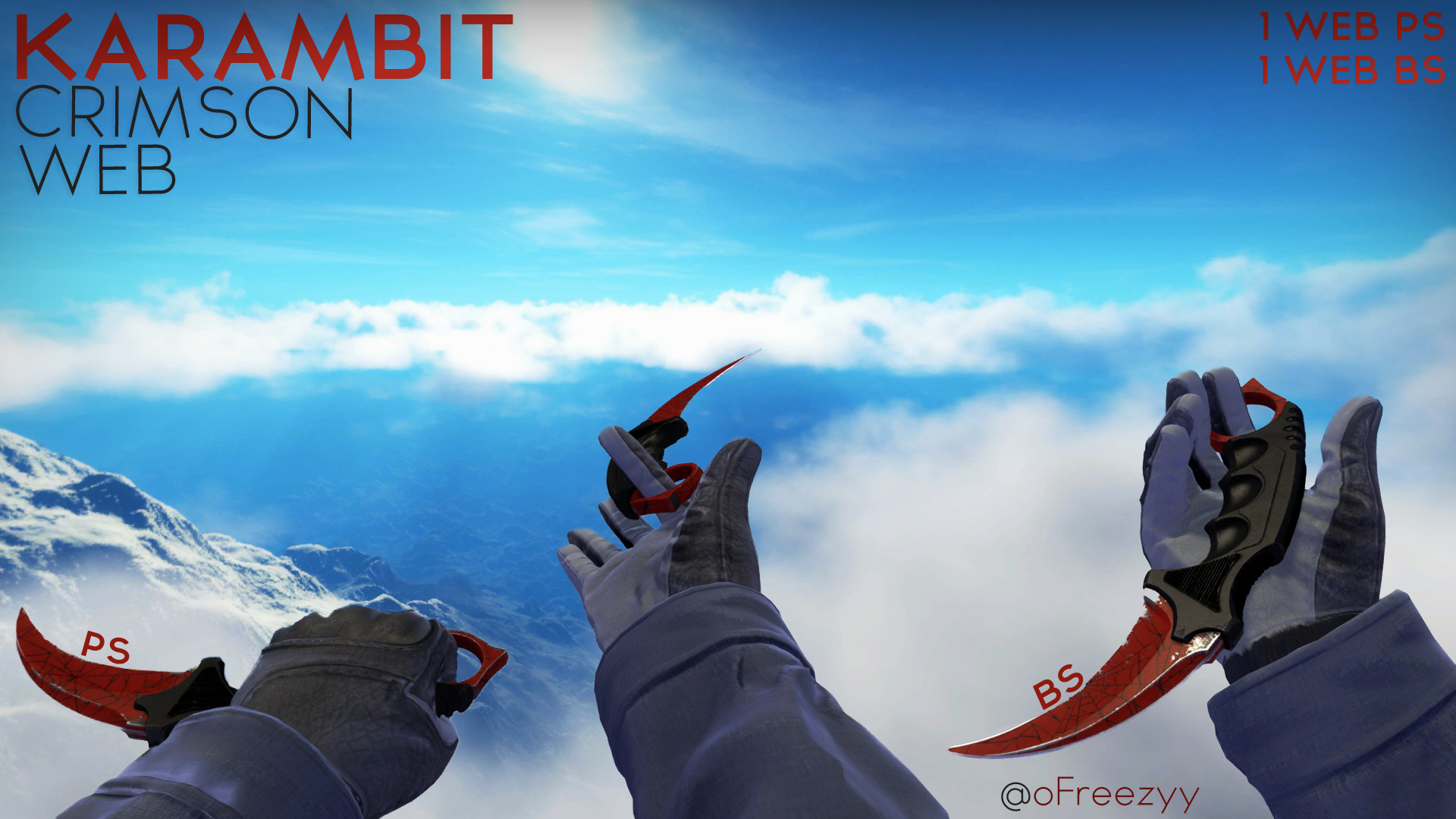 Karambit Crimson Web Wallpapers HD