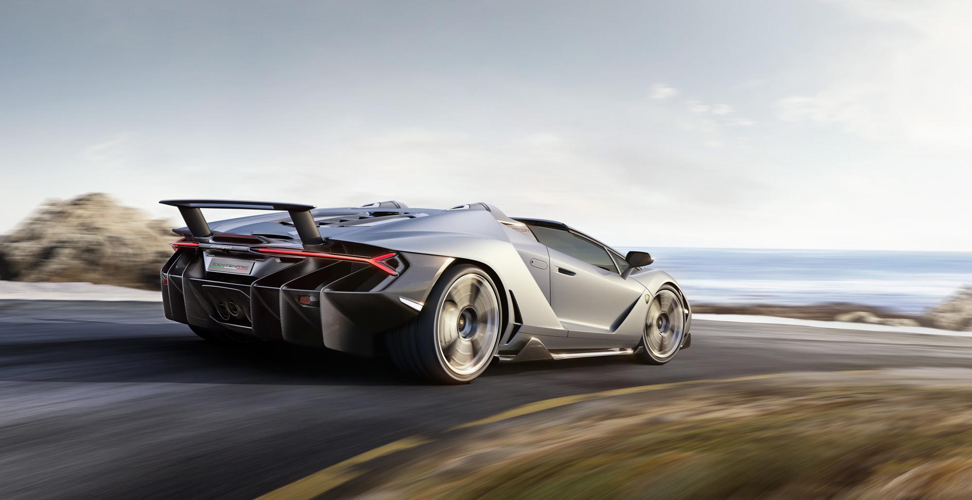 Lamborghini Centenario Roadster Images
