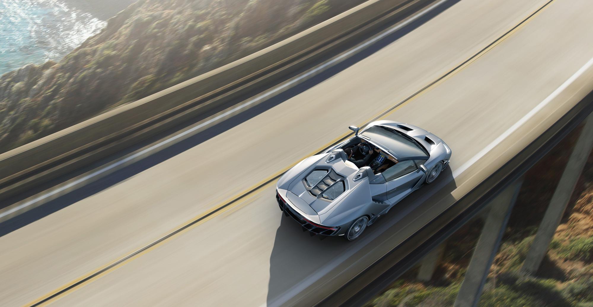 Lamborghini Centenario Roadster Photos