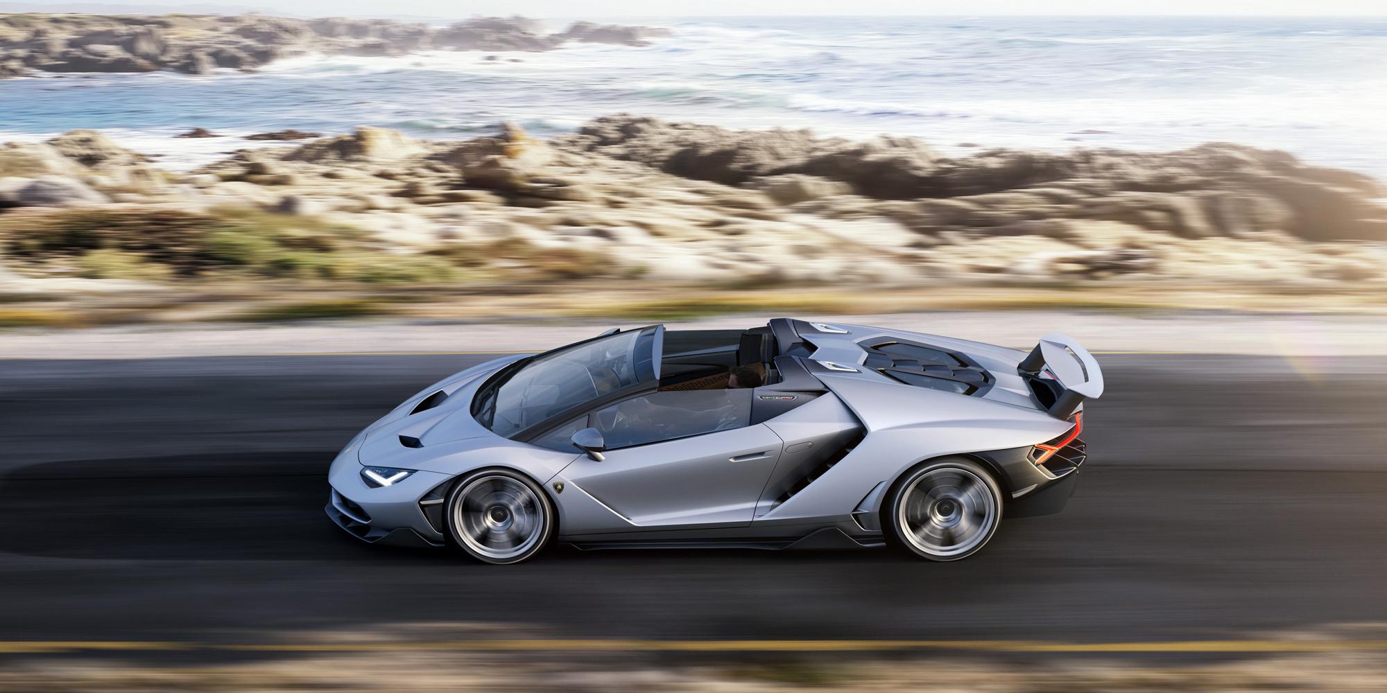 Lamborghini Centenario Roadster Pictures