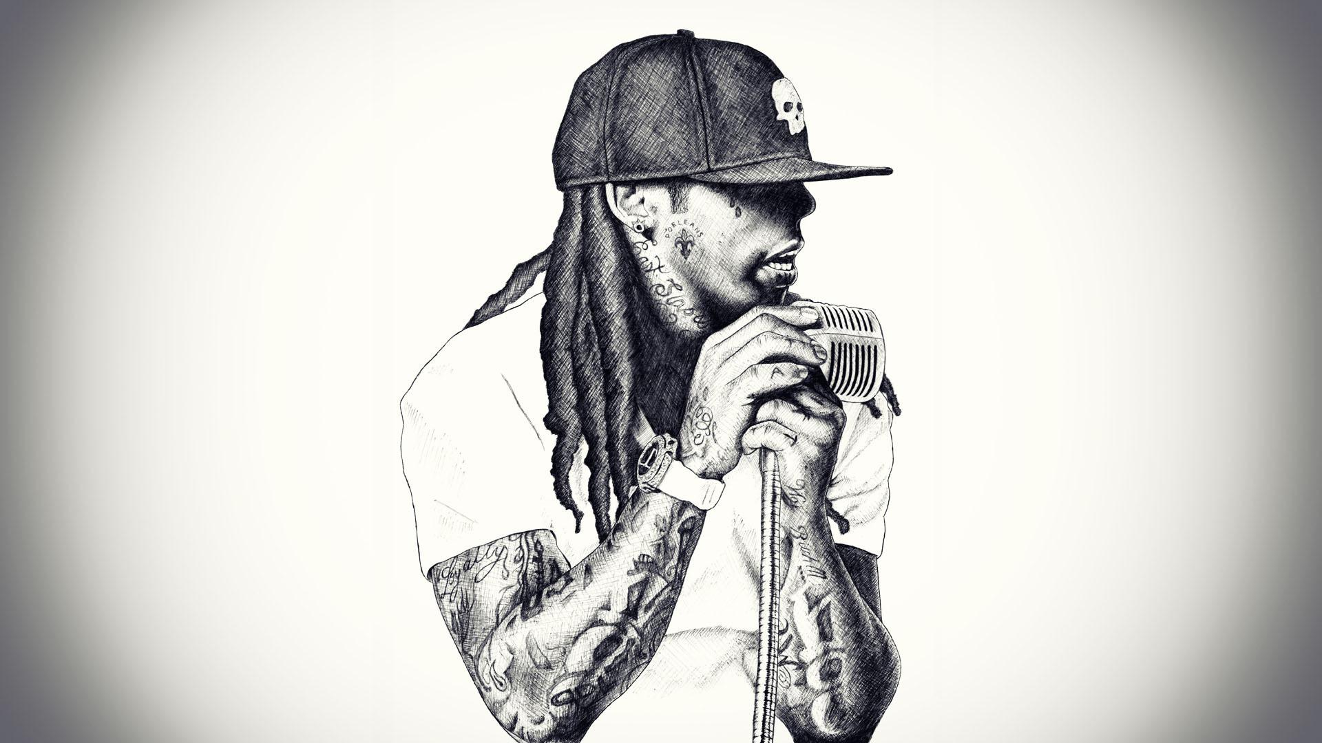 Lil Wayne Sexy Wallpapers