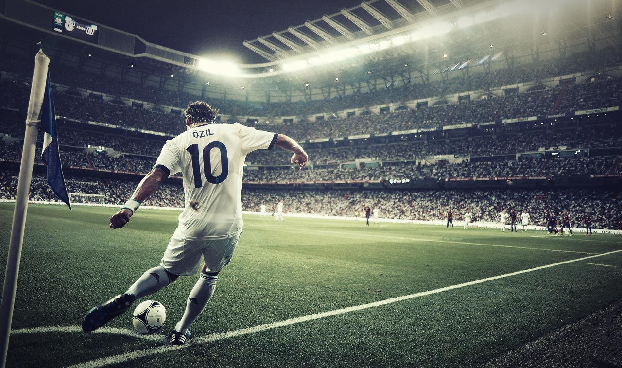 Mesut Ozil Widescreen