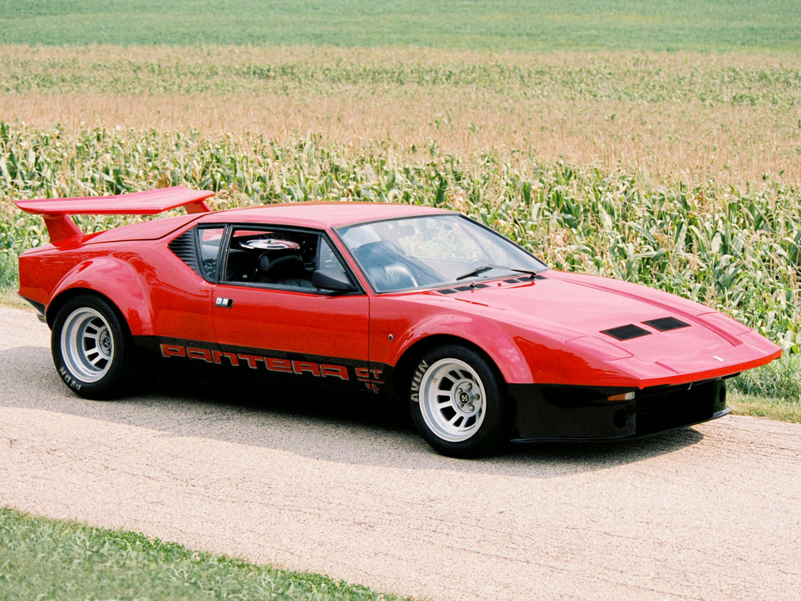 Pictures Of De Tomaso Pantera