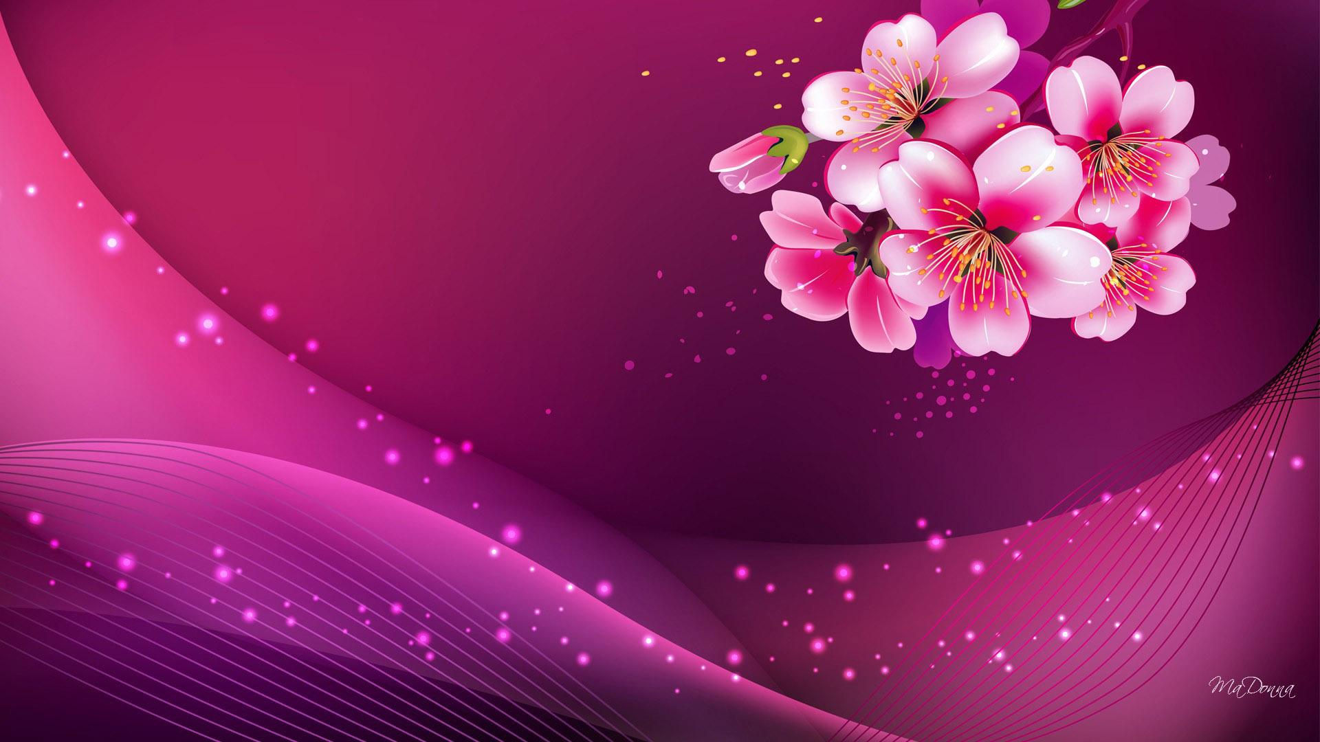 Pink Abstract HD