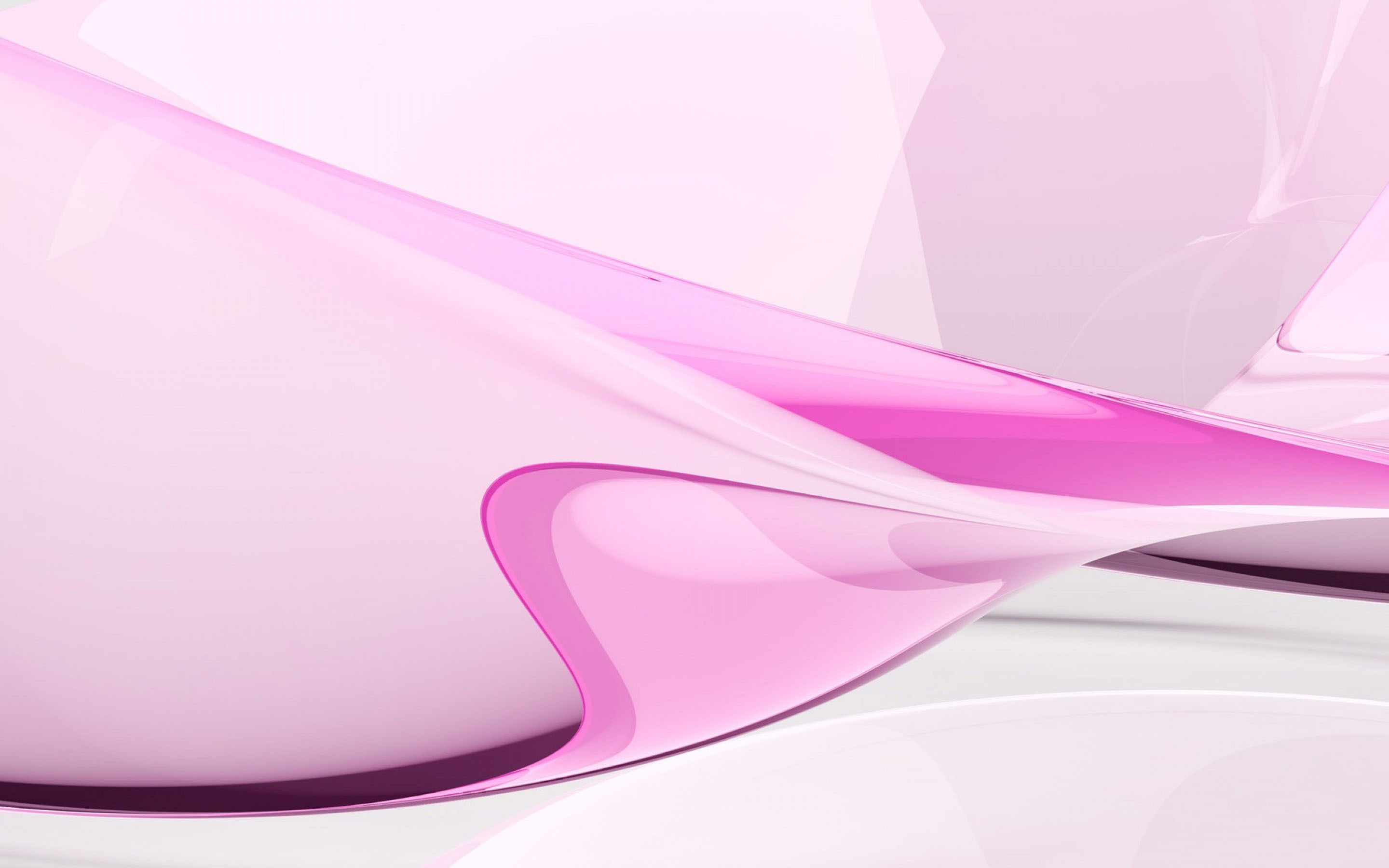 Pink Abstract For Desktop Background