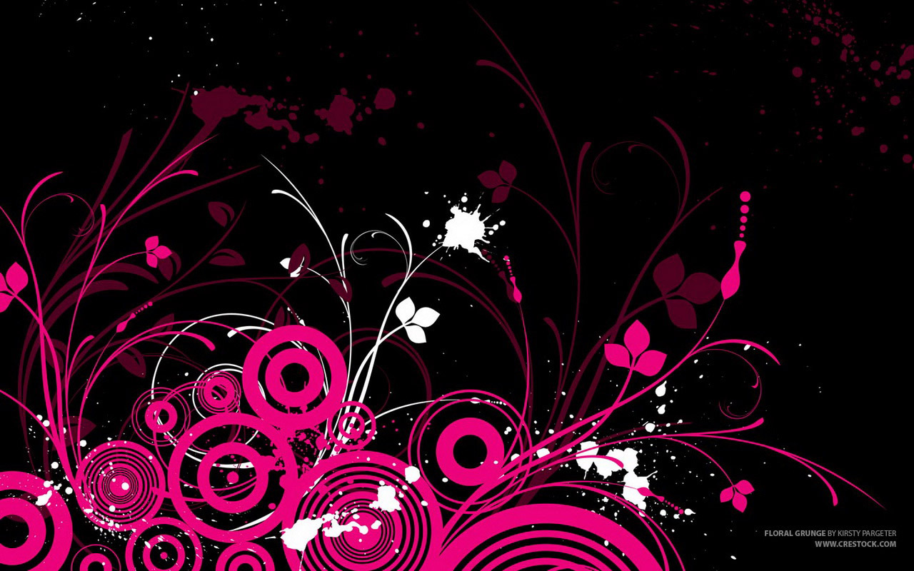 Pink Abstract Full HD