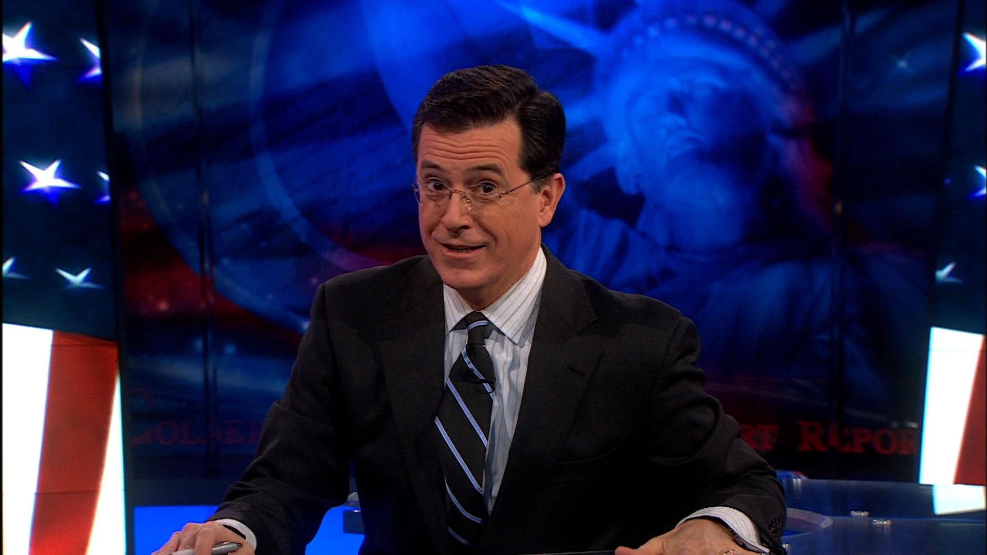 Stephen Colbert HD Background