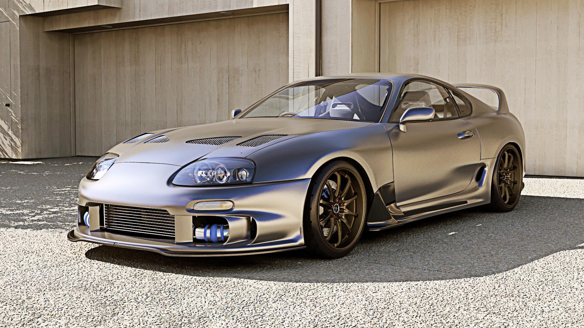 Toyota Supra Background