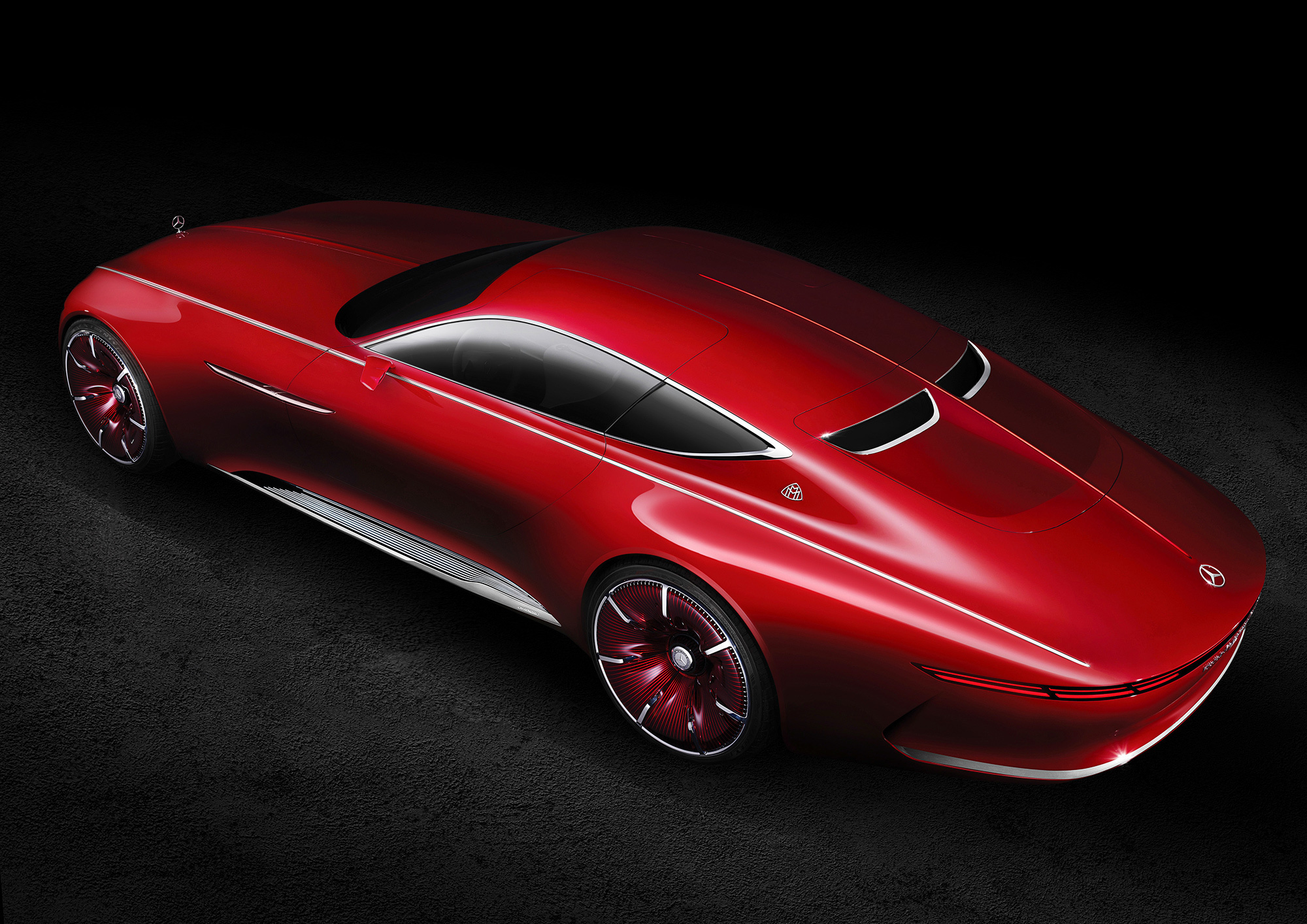 Vision Mercedes Maybach 6 Computer Wallpaper