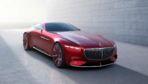 Vision Mercedes Maybach 6 Wallpaper