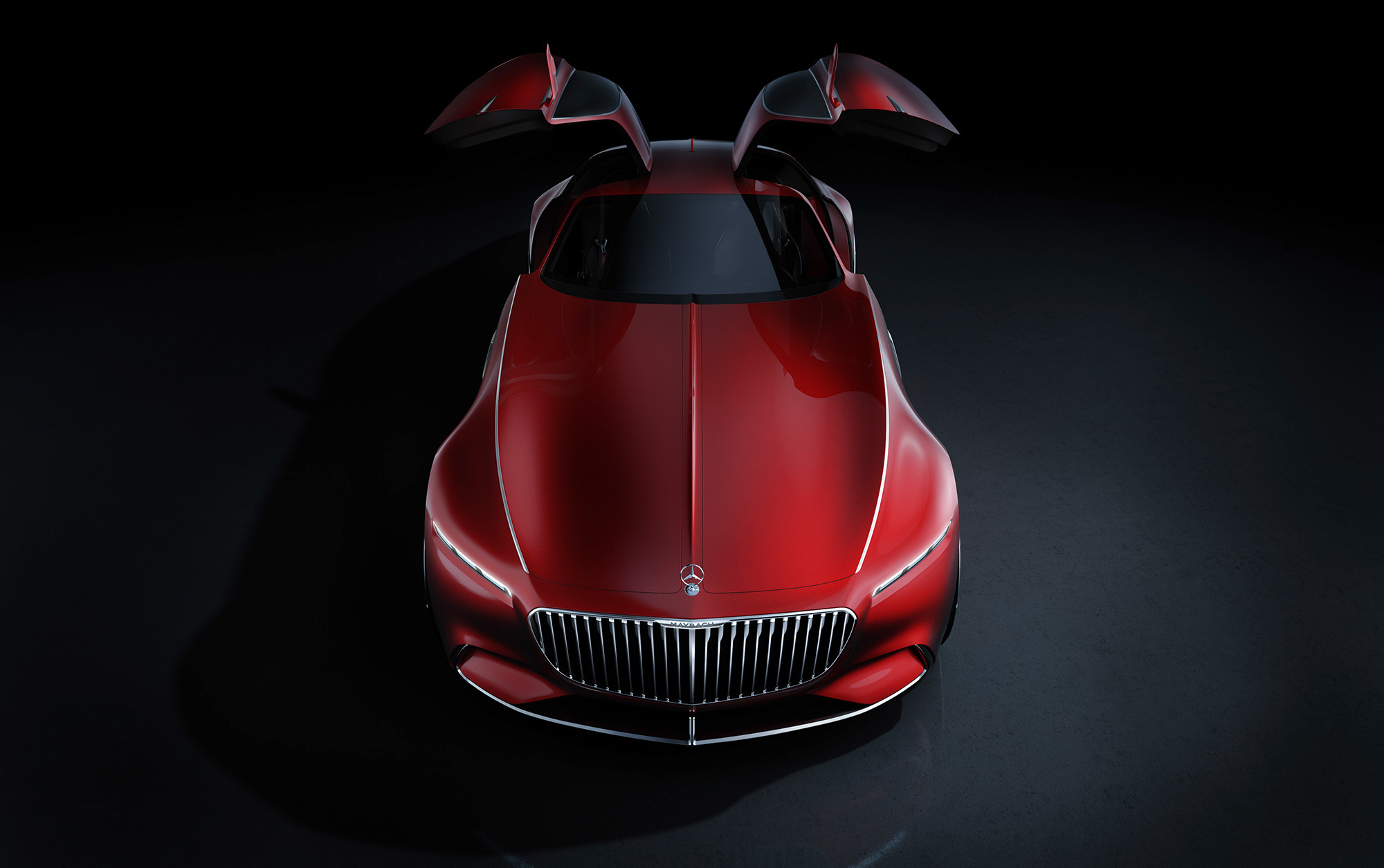 Vision Mercedes Maybach 6 Wallpapers