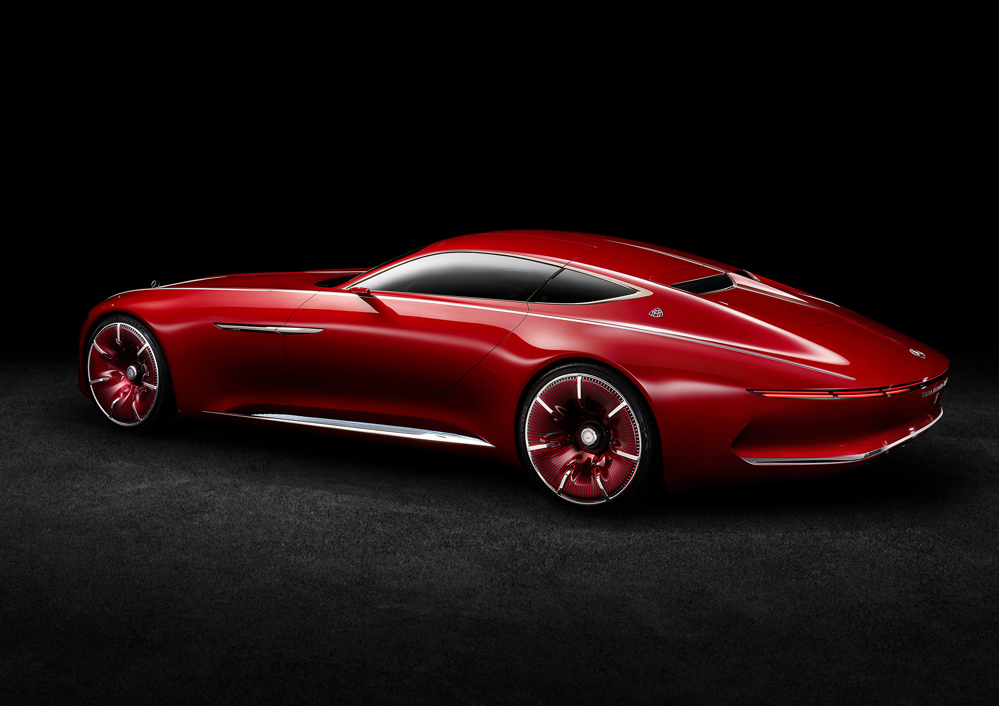 Vision Mercedes Maybach 6 Widescreen