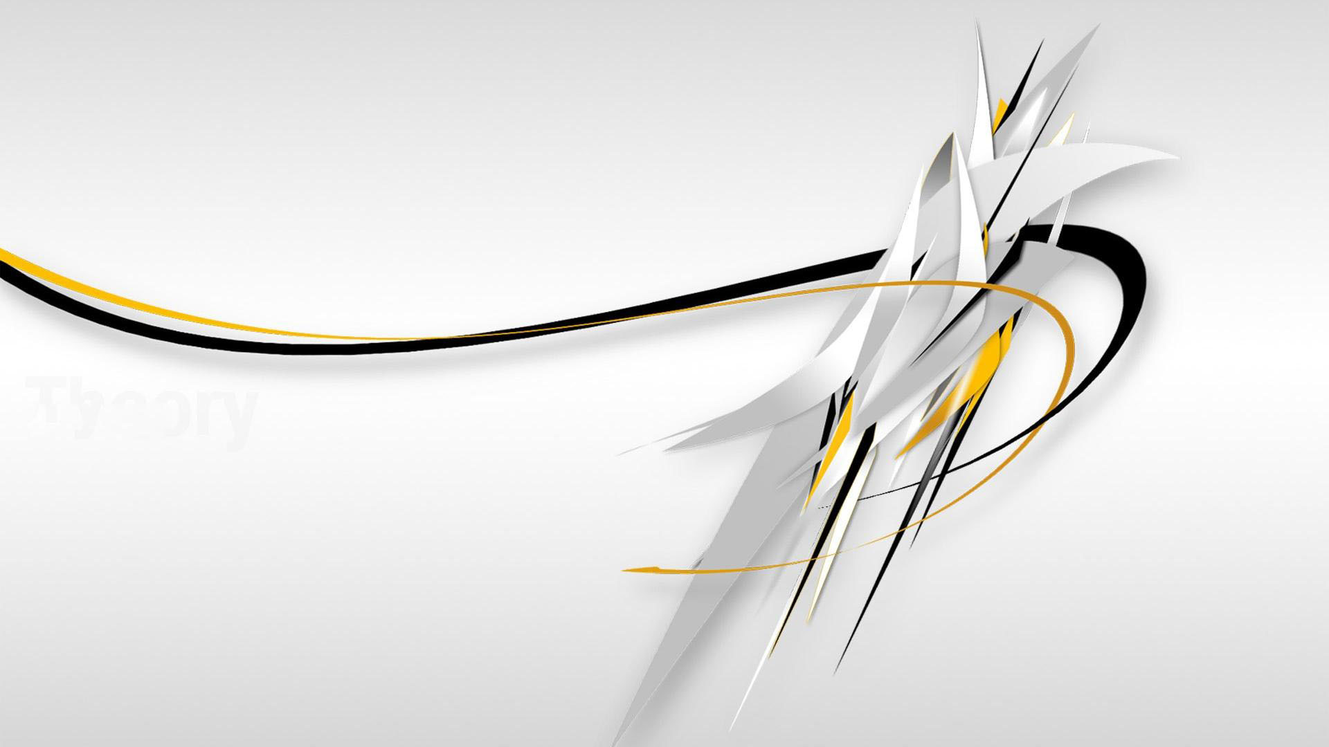 White Abstract HD