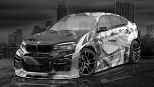 BMW X6 Tuning Computer Wallpaper