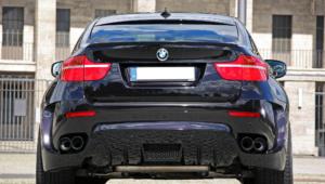 BMW X6 Tuning HD Background