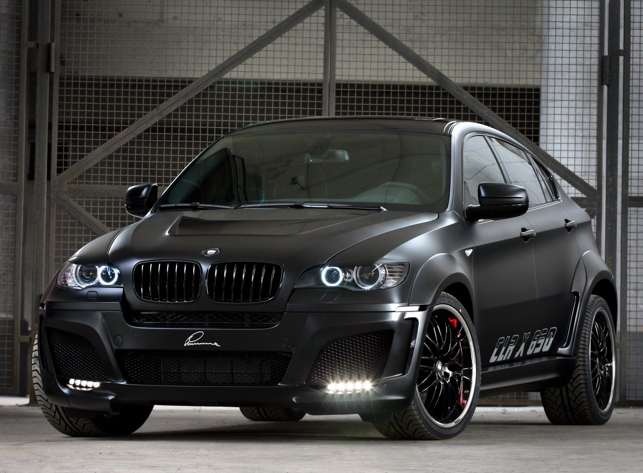 BMW X6 Tuning Pictures