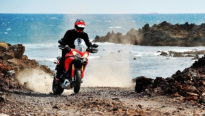 Ducati Multistrada Background