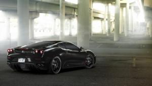 Ferrari F430 Black Background