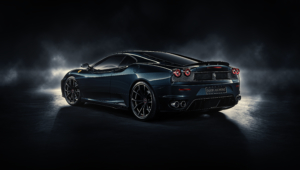 Ferrari F430 Black HD Wallpaper