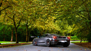 Ferrari F430 Tuning HD Background