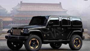 Jeep Wrangler Widescreen