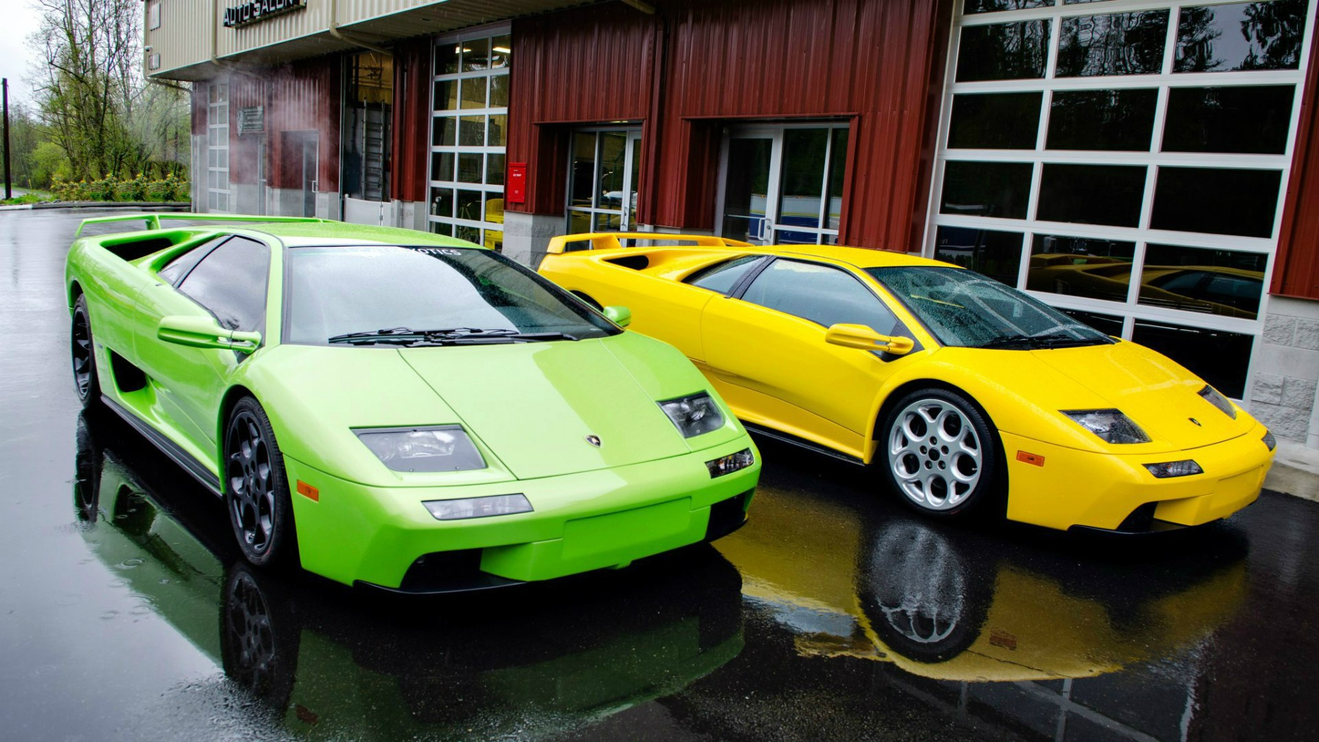 Lamborghini Diablo Hd Background