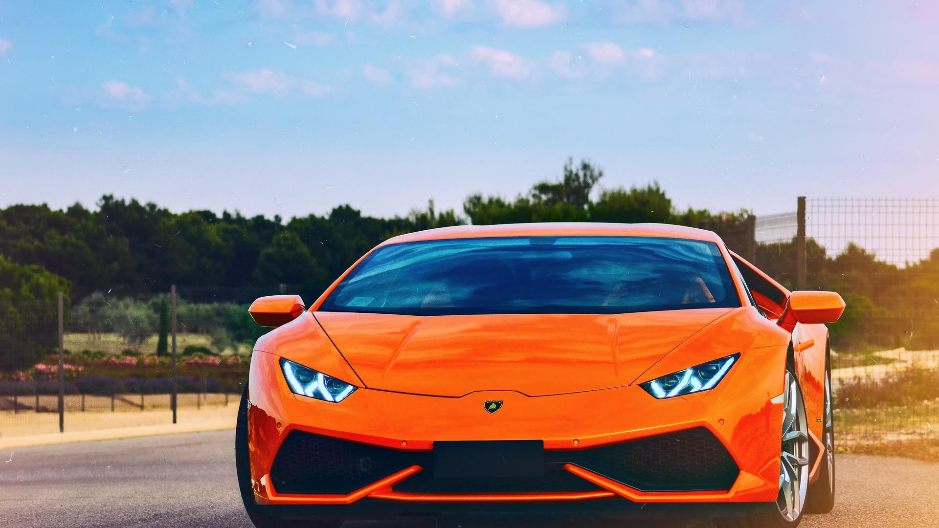 Lamborghini Huracan Desktop Wallpaper