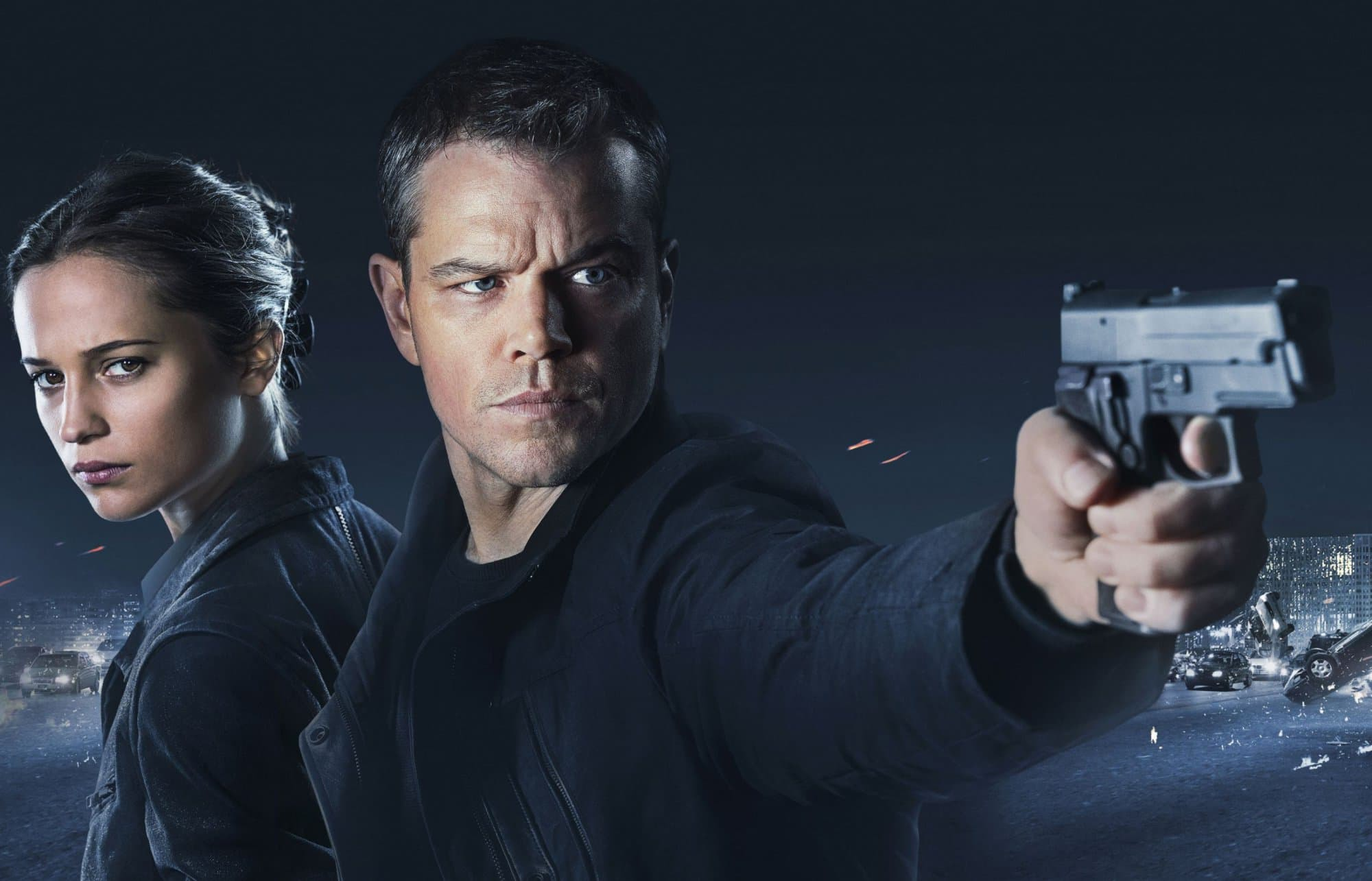 Matt Damon HD Background