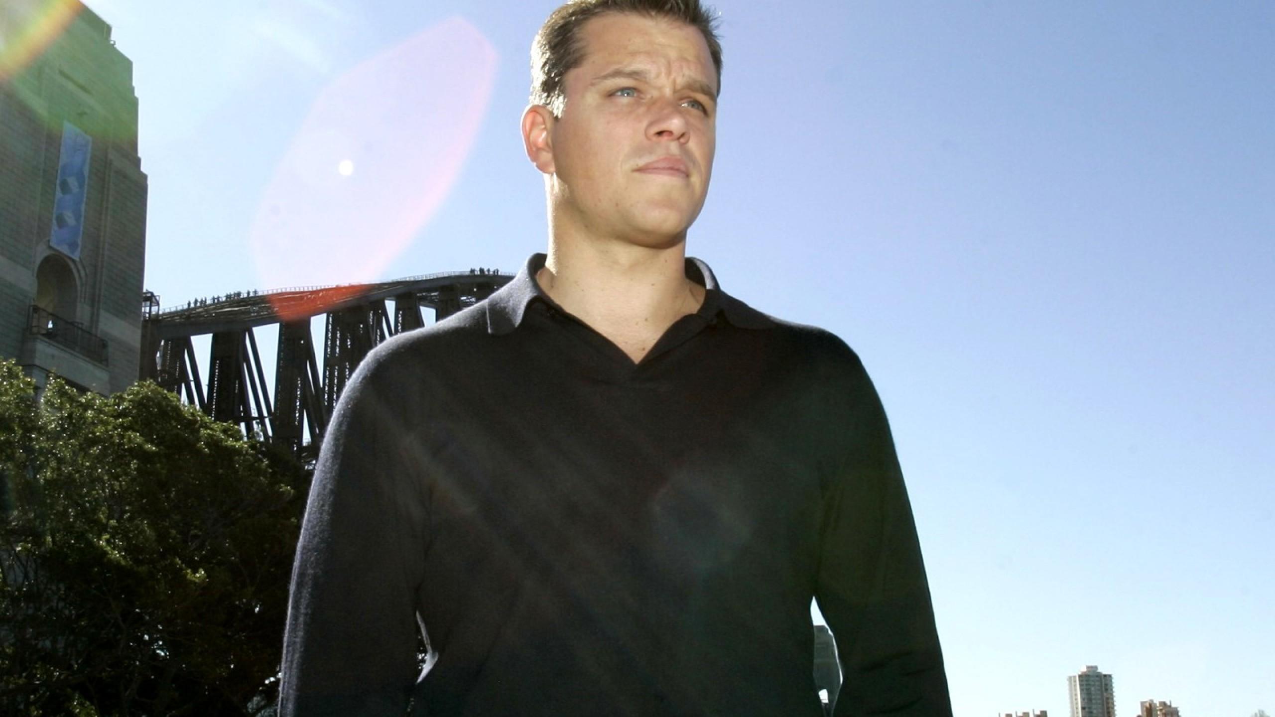 Matt Damon High Definition