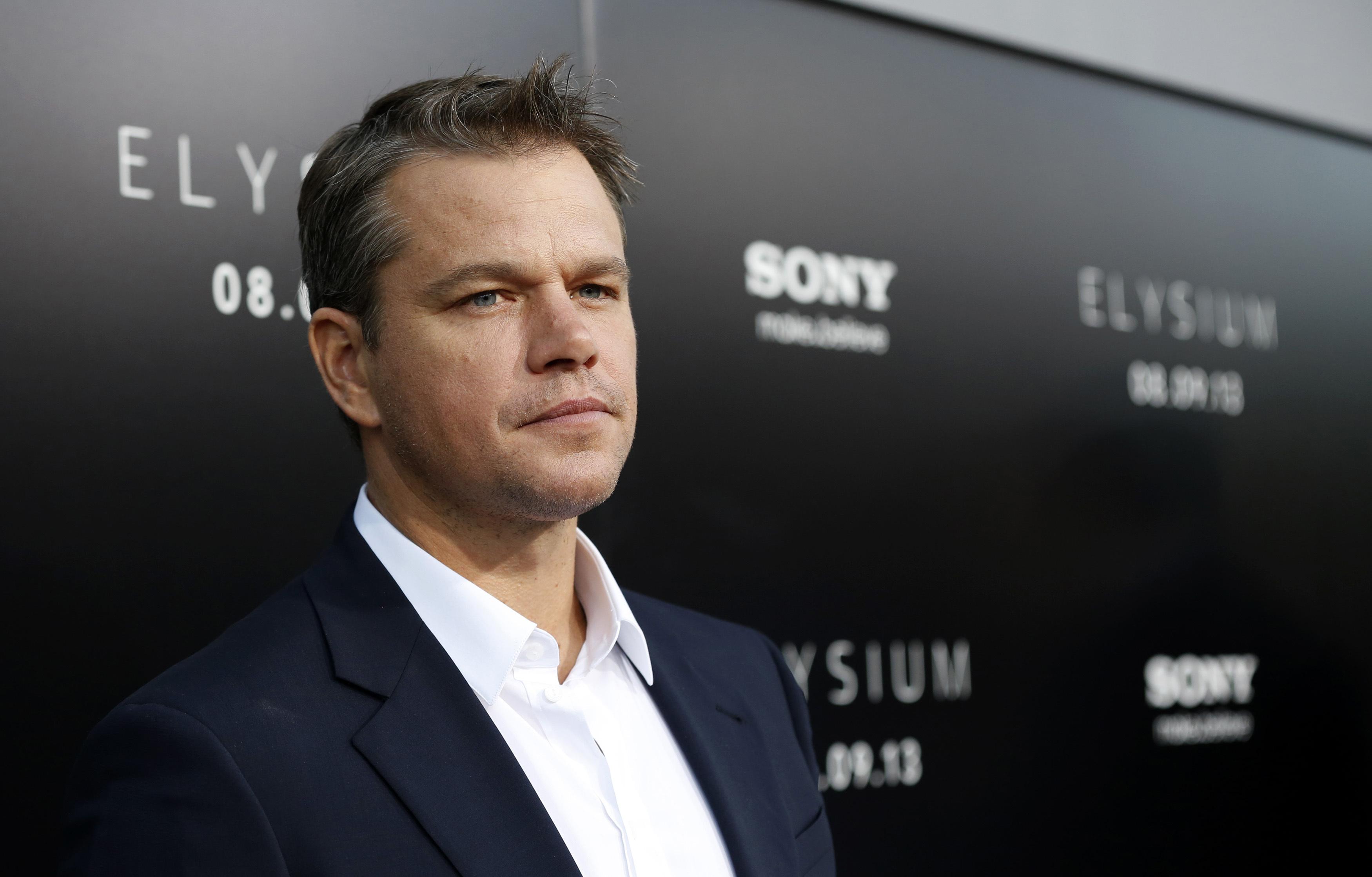 Matt Damon For Desktop