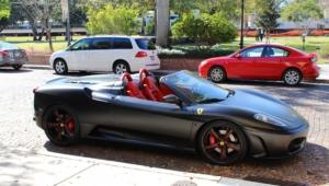 Matte Black Ferrari F430