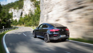 Mercedes AMG GLC 43 Coupe Wallpaper