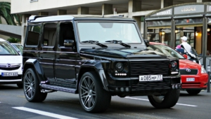 Mercedes Benz Gelandewagen Tuning Background